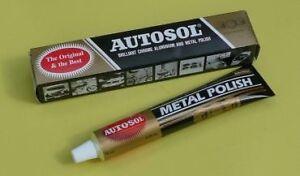 Solvol Autosol Chrome Metal Polish 100g