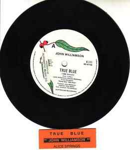 JOHN-WILLIAMSON-True-Blue-amp-Alice-Springs-7-034-45-rpm-record-juke-box-strip