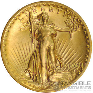 1907-20-High-Relief-St-Gaudens-Double-Eagle-PCGS-MS-65-w-Wire-Edge