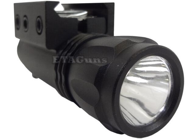 NcSTAR Pistol & Rifle Tactical Bright LED Flashlight w/ Weaver/Picatinny Mount