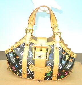 haibanya-Louis-Vuitton-ThedaGM-Multicolor-Black-M92345-Authentic-handbagFL0074