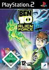 Ben 10: Alien Force (Sony PlayStation 2, 2009, DVD-Box)