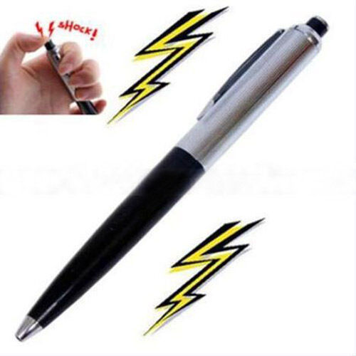 Pen Electric Shock Joke Prank Trick Gift Toy Shocking Funny Novelty Fun Gag New