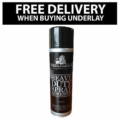 Superspray Adhesive For Glueing Underlay to the Floor