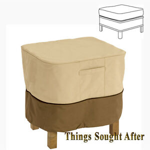 Cover For 26 Quot Large Square Ottoman Or Table Outdoor