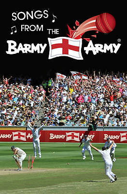 """""""AS NEW"""" Winslow, Paul, Songs From the Barmy Army (Cricket) Book"""