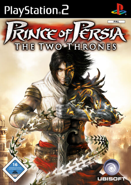 Prince Of Persia: The Two Thrones (Sony PlayStation 2, 2005, DVD-Box)