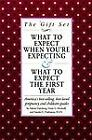 What to Expect Gift Set : What to Expect When You're Expecting - What to Expect the First Year by Arlene Eisenberg, Sandee E. Hathaway and Heidi Murkoff (1999, Paperback)