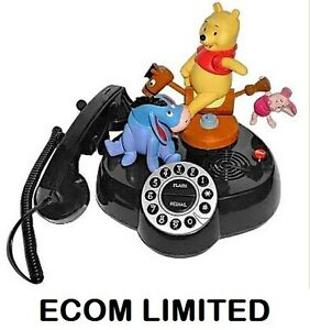 New-Telephone-Disney-Pooh-And-Friends-Talking-Animated-Real-Phone-Gift
