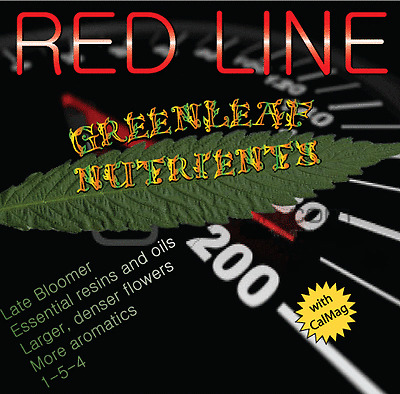 Red Line Hydroponic Nutrients advanced overdrive