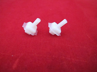 FORD FALCON XW XY GT GS FRONT EYE BROW MOULD CLIP KIT 2PCE ALSO FAIRMONT 302 351