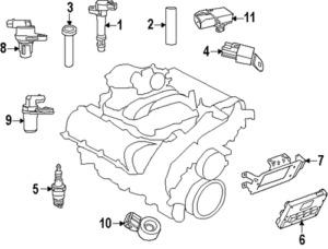 Chrysler 300 Spark Plug Diagram