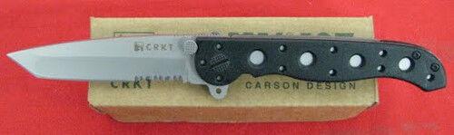 COLUMBIA RIVER KNIFE M16-10Z CRKT TANTO BLACK ZYTEL NEW IN BOX!!!!