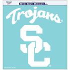 "Wincraft USC Trojans 18""x18"" Clear Die Cut Decal - 35473071"