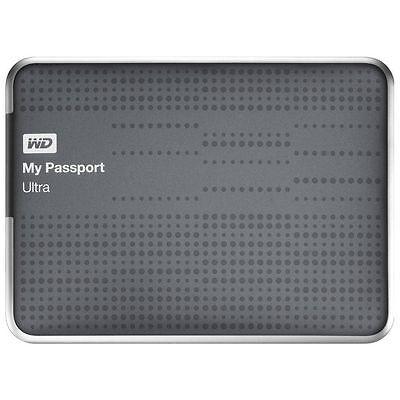 Western Digital My Passport Ultra Titanium 2 TB,External (WDBMWV0020BTT-NESN)