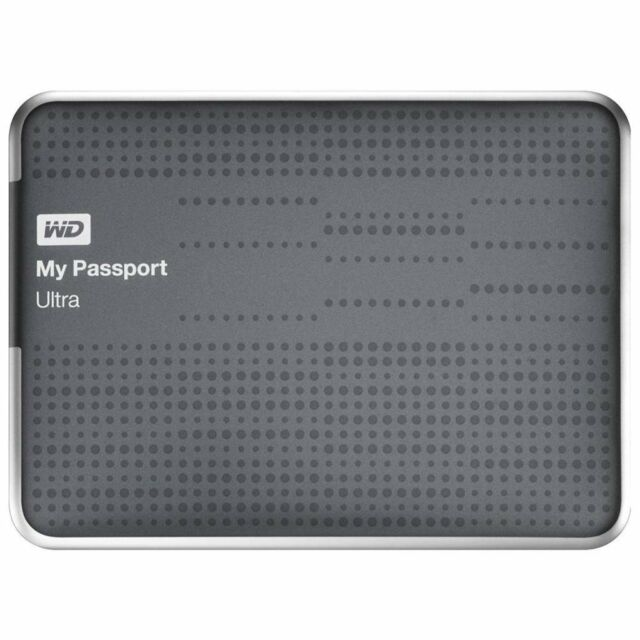 Western Digital My Passport Ultra Titanium 2 TB,External (WDBMWV0020BTT-NESN)...