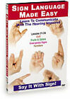 Sign Language Made Easy - Lessons 33-36 (DVD, 2010)