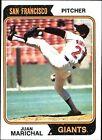 1974 Topps Juan Marichal San Francisco Giants #330 Baseball Card