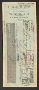 PARIS-III-USINE-de-ROGEANT-80-FICELLES-034-P-NOIZEUX-NICQUEL-amp-Cie-034-en-1935