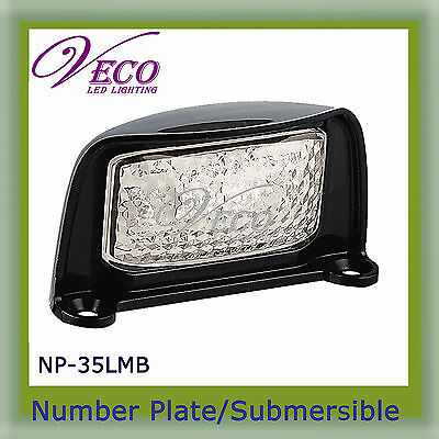 LED Number Plate Light Lamp Truck Trailer Ute Caravan Boat Submersible  4x4 4WD