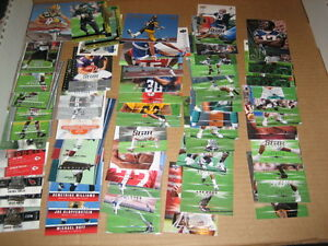 HUGE-LOT-65-AUTHENTIC-VINTAGE-UPPER-DECK-NFL-FOOTBALL-CARDS-2000-039-s-ALL-ROOKIES