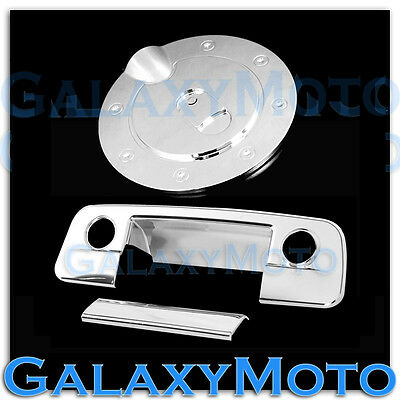 09-15 Dodge Ram Chrome Plated Tailgate w. Camera w. Keyhole+GAS Fuel Tank Cover