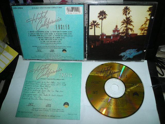EAGLES HOTEL CALIFORNIA JAPAN 24K GOLD DCC CD