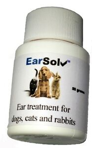 EarSolv Treatment Dog Ear Drops/Powder Infection Wax Yeast ... Ear Mites Vs. Yeast Infection In Dogs