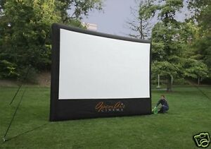 Open Air Cinema Home Outdoor Movie Projection Projector