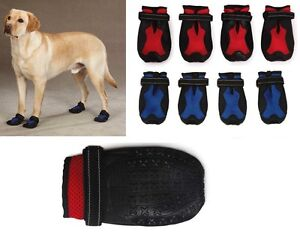 X-TREME-WEATHER-BOOTS-Dog-Wear-Booties-Extreme-Paw-Protection-Snow-Ruff-Hiking