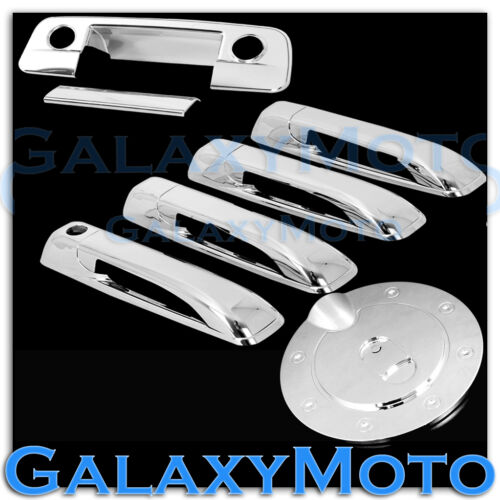 09-15 Dodge Ram Chrome 4 Door Handle+Tailgate with Keyhole+Camera Hole+Gas Cover