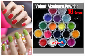 15ml-Colorful-Velvet-Flocking-Powder-For-Velvet-Manicure-Nail-Art-Polish-Tips