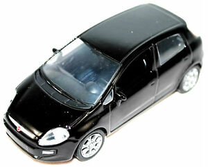 New-Fiat-Grande-Punto-EVO-1-43-Model-Car-New-Black-50906987
