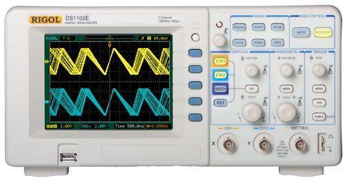 NEW RIGOL Digital Oscilloscope  100MHz DS1102E 1 GSa/s 1Mpts  3 years warranty