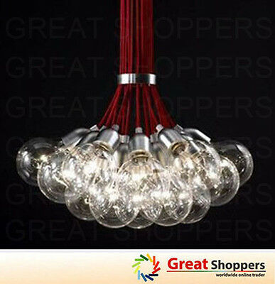 New 19 Lights Idle Max Sea Urchins Glass Ceiling Light Pendant Lamp Chandelier