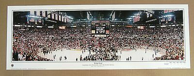 Red Wings 2002 Stanley Cup Panoramic @ Joe Lewis Arena -Small!