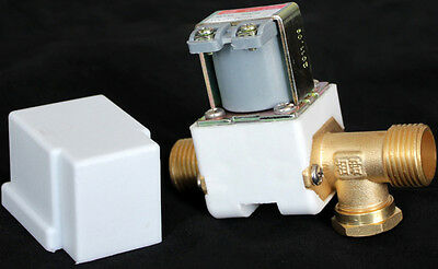 "Electric Solenoid Valve For Water Air N/C 220V AC 1/2"" Normally Closed"