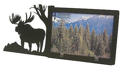 """Moose Picture Frame 3.5""""x5"""" - 3""""x5"""" H"""