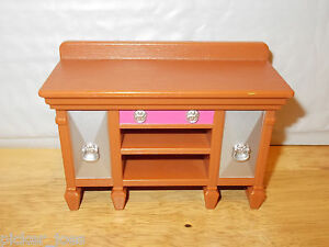 Fisher Price Loving Family DINING ROOM BUFFET CABINET Dollhouse Furniture Part