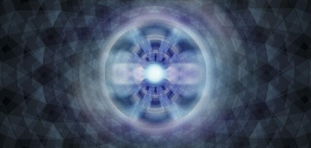 HUGE ENERGISED HEART CENTER TORUS SACRED GEOMETRY ART ARTWORK - SPIRITUAL POSTER