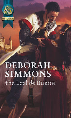 The Last de Burgh (Mills & Boon Historical), Simmons, Deborah, Very Good Book