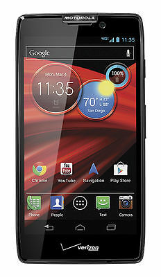 Motorola Droid RAZR MAXX HD - 32GB - Black (Verizon) Smartphone IN BOX