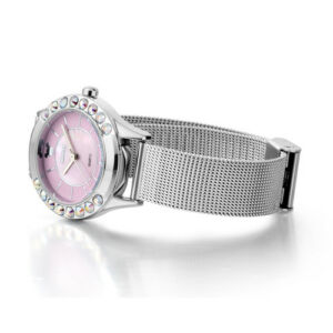 New-Mesh-Steel-Band-Women-Watches-Japan-Movt-Colorful-Crystal-Case-Quartz-51003