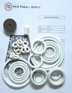 Includes Rubber Ring kit 1957 Gottlieb Royal Flush Pinball Machine Tune-up Kit