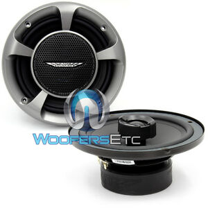 "CTX6 IMAGE DYNAMICS 6"" CAR AUDIO COAXIAL 2-WAY SPEAKERS SILK TWEETERS NEW"