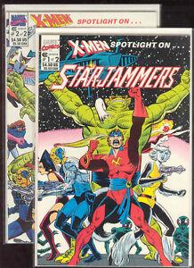 Starjammers-Marvel-Comics-XMEN-X-Men-Spotlight-Dave-Cockrum-Art-High-Grade-CGC