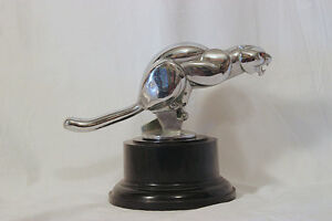 Rare-Jaguar-Hood-Ornament-Mascot-from-Nicolas-Cage-Dealer-Sales-Award