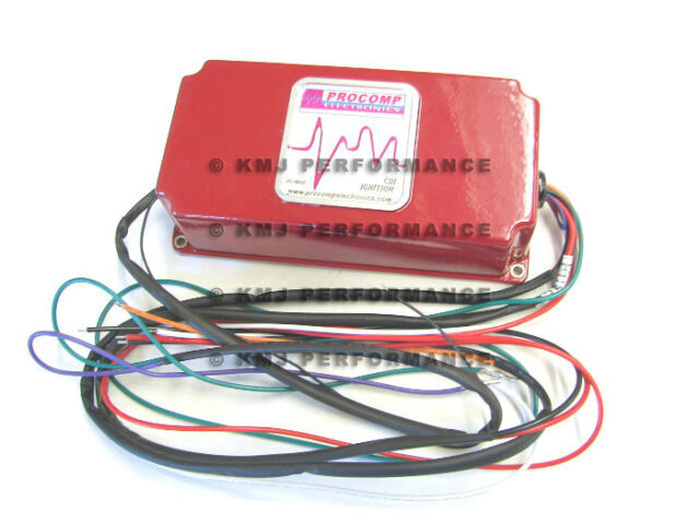 6al Style Multi Spark Discharge Red Cdi Ignition Box With