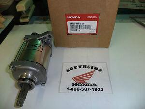 GENUINE-HONDA-STARTER-MOTOR-ASSEMBLY-TRX420-RANCHER-2007-2013-31200-HP5-601