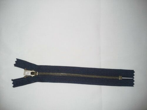 "New Brass Zipper 7/""  Assorted Colors Heavy Duty"